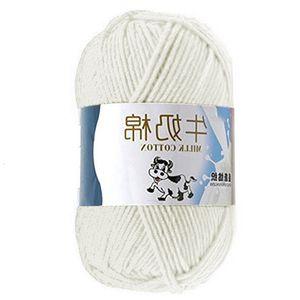 Cómodo caliente mezclado de alta calidad, manual de bricolaje algodón hilo de tejer calcetines manta ropa de lana acrílico ECVR