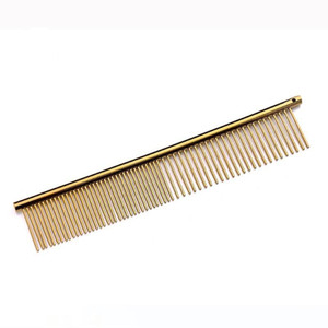 Anti Static Pet Grooming Comb Professional Stainless Steel Dog Cat Combs Practical Cleaning Hair Trimmer Brush Hot Sale 5 5dx BB