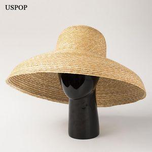 USPOP Strohhüte breite Krempe Hüte Sonne