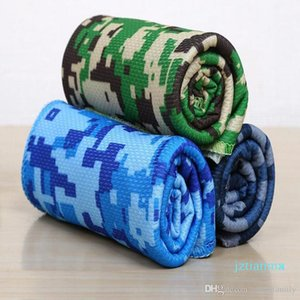 Camouflage Camo Print Cool Towel Coolcore Utility Enduring Instant Icetowel Camping Hiking Gym Exercise Workout Breathable Sport Towel