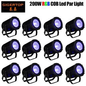 200W LED COB Public Lumière RGB 3en1 COB Blinder lampe pour DJ Disco Light Party Wedding Slient No Fan Par Lumière