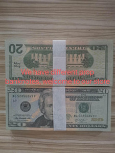 US 66 Hot Dollar Movie Prop Party 20 Collection Games Money Banknote Bar Prop Money Fake Dollars Sales Gifts Gsubn