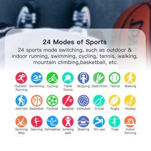 teléfono inteligente reloj G28 Deportes inteligente mujer del reloj reloj de los hombres IP68 a prueba de agua SmartWatch Para iOS Android