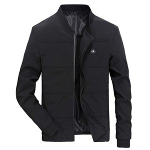 Bahar ceketler Mens Pilot Bombacı Ceket Erkek Moda Beyzbol Hip Hop Coats Slim Fit Coat Marka Giyim
