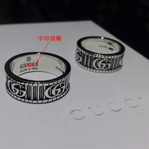 Moda 925 anéis de caveira prata moissanite anelli bague para homens e mulheres Wedding Party dom amantes da jóia de noivado com caixa 666