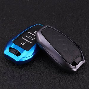 Soft TPU Car Key Case Cover For Peugeot 2008 3008 5008 For Citroen C4 C6 C3-XR Picasso DS3 DS4 DS5 DS6 key Full Holder Shell