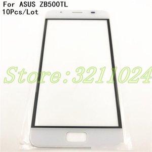Obiettivo di vetro sostituzione touch screen 10Pcs / Lot 100% originale dello schermo anteriore esterna per ASUS ZenFone 4 Max Pegasus 4A ZB500TL X00KD