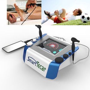 Two handpiece Monopole radio frequency Monopolar rf smart tecar machine tekar physiotherapy for knee pain relief