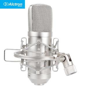 Alctron MC001 microfone condensador de grande diafragma pro estúdio de gravação Microfone com bolsa de transporte
