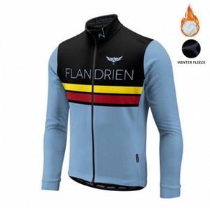 2018 Winter Fleece Morvelo Classic cycling jersey for men Road bike cycling wear SL MX DH long sleeve jersey Z7X9#
