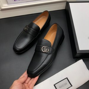 2020 cuir Loro Walk Chaussures hommes de luxe de pierre modèle nubuck Flats chaussures robe de loisirs officielle, plus la taille 45 G