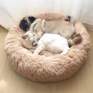 Pet Dog Puppy Cat Fleece Warm Bed House Plush Cozy Nest Mat Pad Pet House Bed Sofa Sleeping Bag Winter Nest Kennel Dogs Pad C1004
