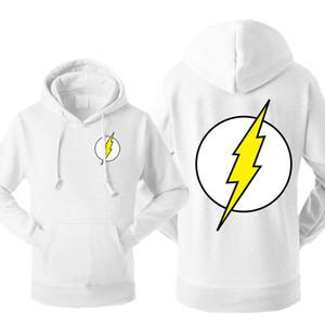 Sheldon Cooper Men's Hoodies Sweatshirt The Big Bang Theory Fleece Hooded Streetwear The Flash Sportswear Winter Warm Pullover