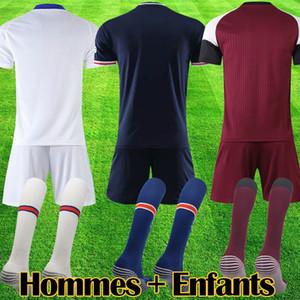 PSG футбол джерси для взрослых полный комплект Paris saint germain 2019 MBAPPE CAVANI VERRATTI шорты носки 18 19 футболка униформа майло оборуд