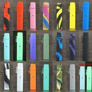 Relx la caja de 21 colores de piel suave de silicona protectora cubierta de silicona manga Fit relx Starter Kit de DHL