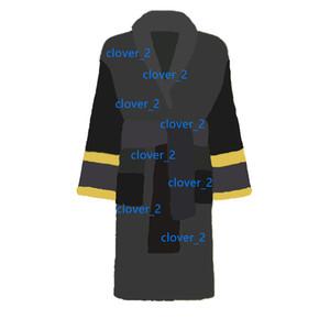 6 Colori della coppia Bagno Robe Baroque Jacquard Accappatoio Uomo Donne Robe Unisex Night Robe Robe Abito da notte di alta qualità Abito da notte KLW1739