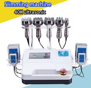 New Lipo Laser Slimming Ultrasonic 40K Cavitation RF Weight Loss Vacuum Therapy Cellulite Removal Fat Burning RF Face Lifting Beauty Spa