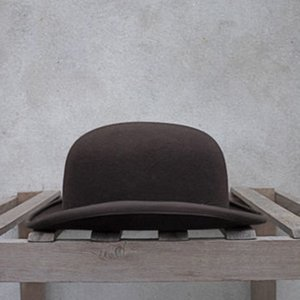 Wool Bowler Hat Women men Crushable Traditional Billycock Groom Hats 4 Size S M L XL