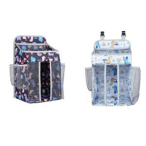 Portable Crib Organizer Baby Bed Hanging Bag for Infant Essentials Diaper Storage Cradle Bag Bedding Set Bags