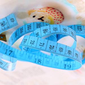 Tragbare Bunte Körpermessung Lineal Zoll Nähen Schneider Maßnahme Weiche Werkzeug 1,5m Nähen Maßband Weihnachtsgeschenk GWE4259