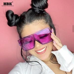 senhoras Praça Big Sunglasses Vintage Women Top Marca Goggles Mens Oversize Sun Glasses Purple Fashion Eyewear UV400