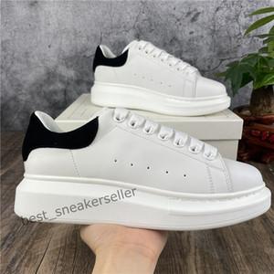 2021 Top Zapatos casuales para mujer Entrenadores para hombre Mejores zapatos de plataforma de cuero plana Chaussures de Deporte Zapatillas Zapatillas Sombrero con caja