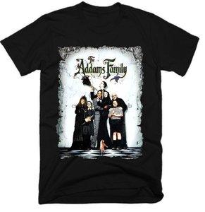 Addams Family Mens engraçado do filme camisetas Homens Streetwear camisetas Moda T Shirt camisetas Personalizado Mens Tops esporte moletom com capuz Hoodie