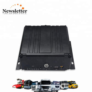 AHD MDVR 4CH HDD SD Card Mobile DVR with Car Vehicle Black Box 4 channel Palyback MDVR PAL NTSC system