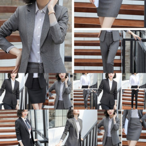 K3Tg Hot sale Korean style fashionable women's suit multi-layer women's five-pointed suit
