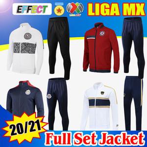 Suite 2020 2021 Club America Mens Football Jacket Kit Training Costume 20 21 Unam Soccer Tracksuit Mexico Club Chandal Jogging Pants
