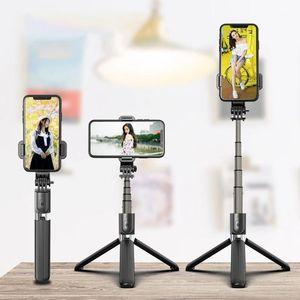 Wireless Bluetooth Handheld Smartphone Stand Selfie Stick Universal Video Live L03 Handheld Balance Stabilizer Tripod1