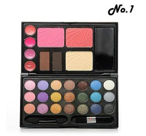 2021 Best New Makeup Set 21 Colors Eyeshadow 2 Colors Brow Powder Blusher Lip Gloss Combo Make Up Kit Palette with Mirror Freeshipping