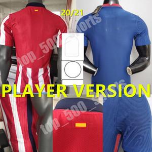 20 21 Versão do jogador # 7 João Félix Jersey 2020 2021 Homens Koke Saúl Correa Thomas Lemar Camisas Camiseta de Fútbol
