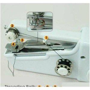 DHL SPEDIZIONE Handy Stitch Palmare elettrico macchina da cucire elettrica mini portatile home cucito tavolo veloce tavolino a mano singolo qylycd giardino2010