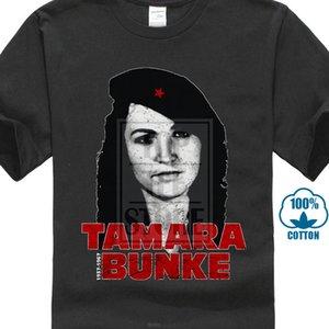Tamara Bunke Tişörtlü Tania Fidel Küba Castro portresi Che Devrimi Tee Gömlek Casual Kısa Kollu spor Kapşonlu Kazak Hoodie