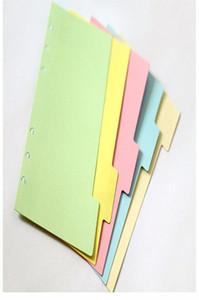 الأصلي الكلاسيكية دوامة دفتر مقسم لطيف غرامة المنظم مخطط الصفحات seperator مكتب مدرسة القرطاسية ورقة 5 a6 jlljvz