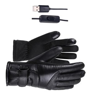 1 Pair Winter Motorcycle Riding Electric Heating Gloves Warm Gloves USB High Heat Constant Temperature Thermal Heating fo