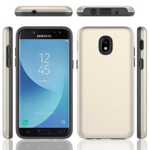 Çift Katmanlı Hibrid Ince Zırh Darbeye Kılıf Samsung Galaxy A10E A20 A30 A50 J3 Yıldız J7 2018 Sert Kapak Cilt