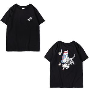 Z1 2020 Mens T-shirt di alta qualità manica corta casuale Primavera Autunno Trendy Stampato per uomini e donne trasporto di goccia di hip hop alfabeto