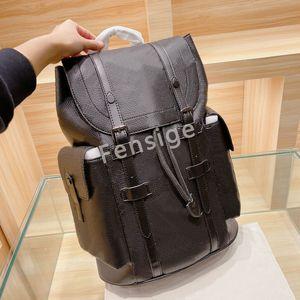 M55699 Designer Rucksack PM Große Kapazität Oxidierte Leder Reise Handtaschen Luxurys Christopher Herren Trend Totes Abael Bags M43735