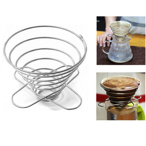 Reusable Stainless Steel Dripper Tea Strainer Pour Over Cone Paperless Home Brewing Helper Coffee Kitchen Tools 1021