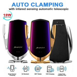 Magic Clip R1 Car Wireless Charger Car Search Positioning Glass Mirror Mobile Phone Holder Car Fast Charger Automatic Clamping