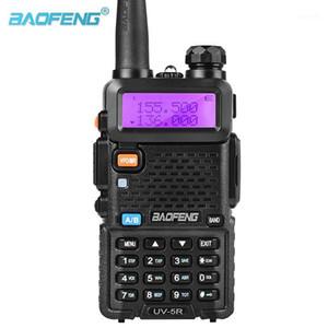 Baofeng UV-5R 듀얼 밴드 워키 토키 라디오 듀얼 디스플레이 136-174 / 400-520MHz 5W 무료 이어폰이있는 2 웨이 라디오 Baofeng UV 5R1