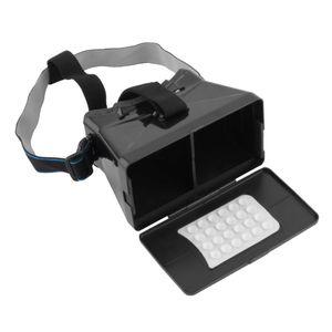Universale realtà virtuale 3D Video Glasses for Google Cardboard VR 3D Film Giochi con resina Lens per Smartphone 3.56 pollici caldo