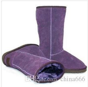 2020 brand New fashion women big girls snow boots winter boots warm shoes top quality Australia original skin fur boots US 4--13