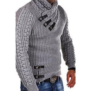 SMONSDLE Cardigan Sweater Coat 2020 nuovi uomini di modo di inverno di autunno maglioni casuali solidi Warm Knitting jumper Maglioni maschile Cappotti