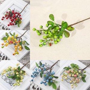 Single Acacia Bean Simulation in berry Simulation Flower Plant Flower arrangement Accessories