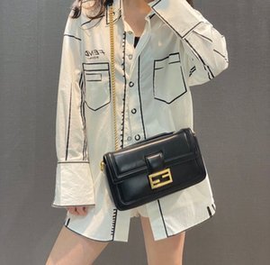 Hotest Womens chain bag Designer bags baguette fashion sheepskin messenger shoulder bags Real Leather Cover Flap bag High quality 3360