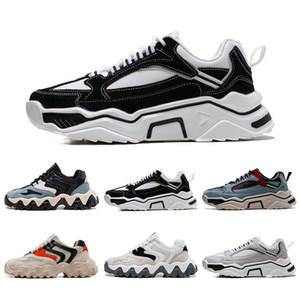 Design platform shoes mens running shoes color blue white black beige orange Non-brand dad shoes men chaussures size 39-44