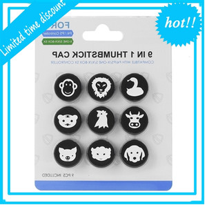 Small Silicones Thumb Grip Accessories Game Entertainment For PS5 PS4 Xbox Series S X Switch Pro Controller Analoge Stick Cap